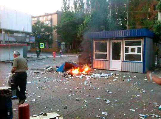 Обстрелы Донецка и Горловки не прекращаются