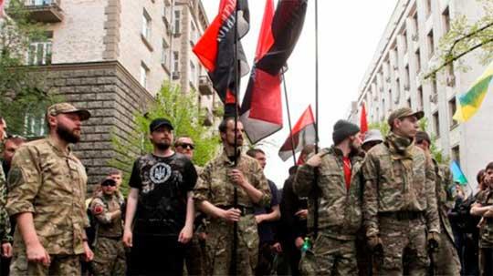 «Айдар», «Азов», «ОУН» и «Торнадо» поддержали «Правый сектор»