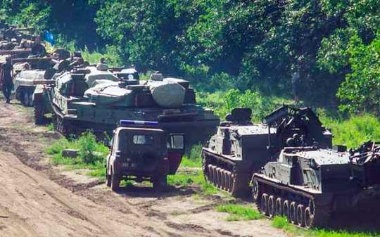 Украина готовится к обстрелам Донецка