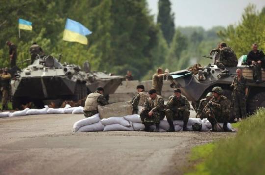 Сводка военных событий в Новороссии