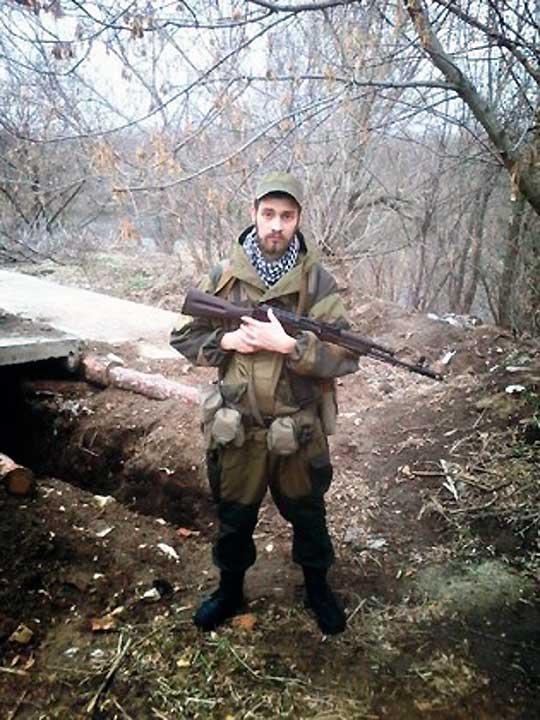 Минометчик Игорь Мирошниченко