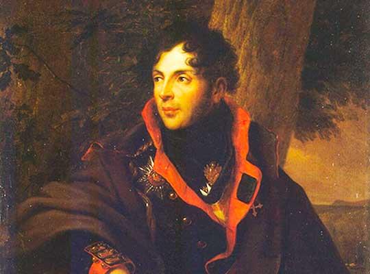 Портрет Н. М. Каменского. Художник Фридрих Георг Вайч, 1810 год