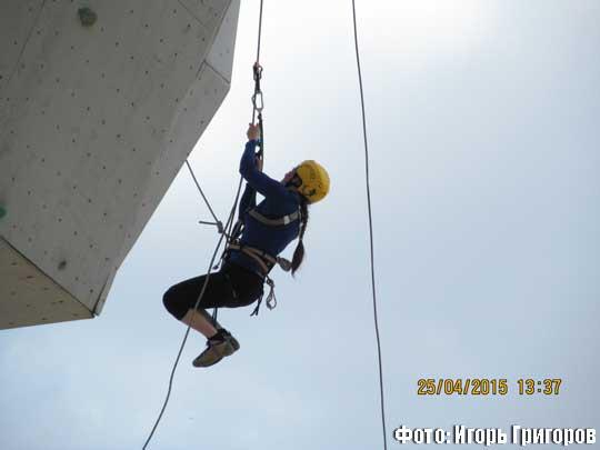 Репортаж с кубка Всеукраинской Федерации альпинизма и скалолазания по технике альпинизма