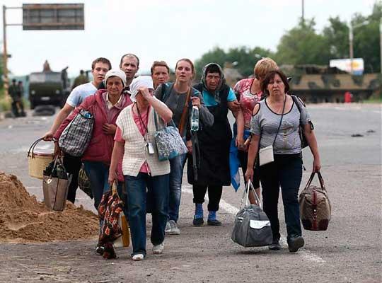 Приток эмигрантов с Украины в Россию увеличился вдвое