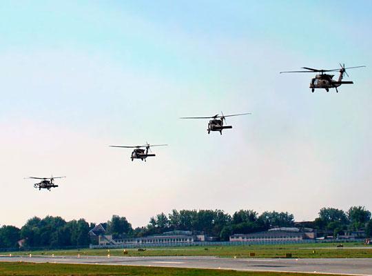 Sikorsky UH-60 Black Hawk – многоцелевой вертолет