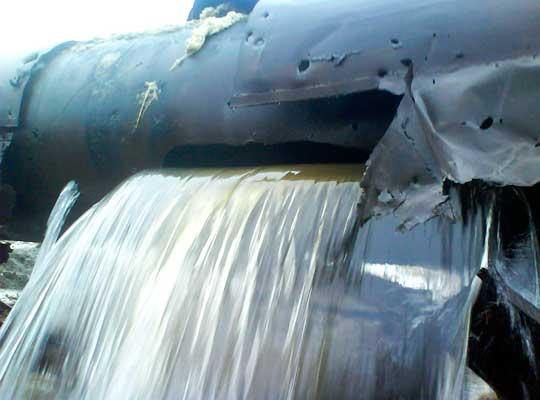 Горловка начала восстановление разрушенного обстрелами ВСУ водопровода