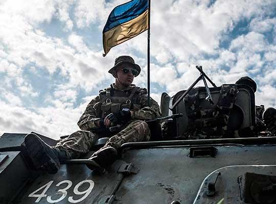 Точка вторжения ВСУ на Донбасс - Волноваха