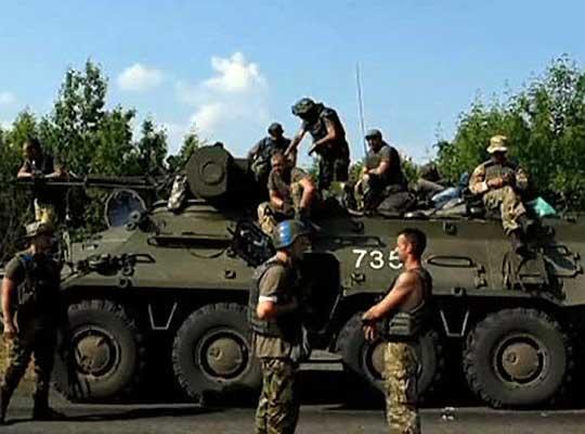 Память о погибших защитниках ЛНР почтили открытием нескольких мемориалов в Луганске