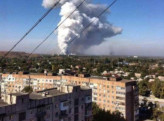 Донецкие хроники. Ракетный удар по «Минску-2»