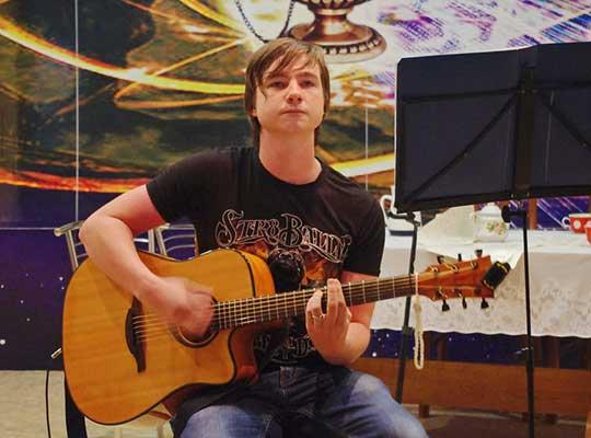 Концерт памяти Виктора Цоя прошёл в Луганске