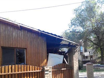 Украинские «освободители» расстреляли из гранатомета кафе в оккупированном Славянске
