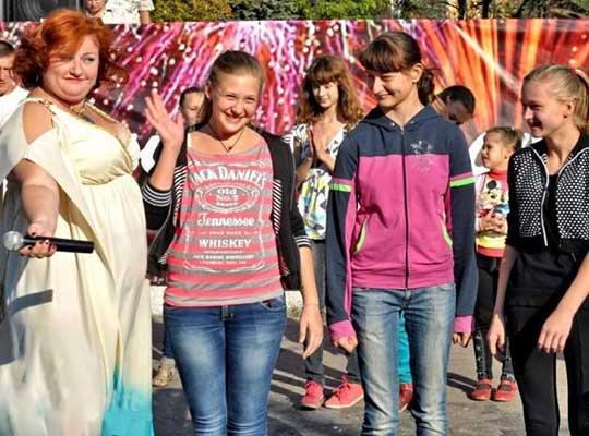 Дебальцево отметило 137-летие праздничным концертом