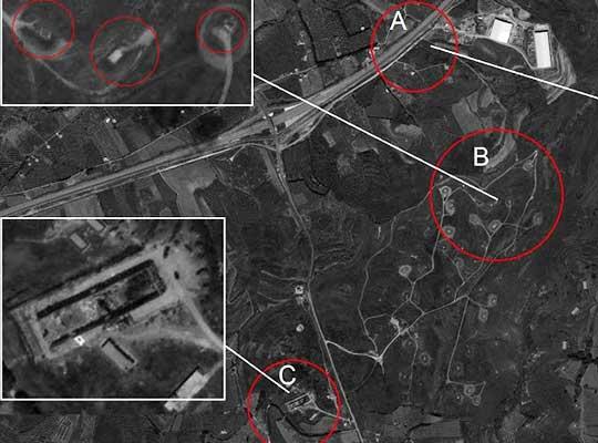 Спутниковые снимки Латакии после обстрела Израилем