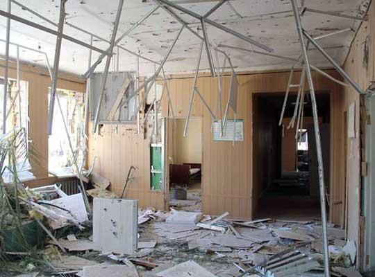 Больница Новосветловка