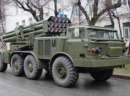 ВСУ перебросили к линии фронта в ДНР 15 установок «Ураган»