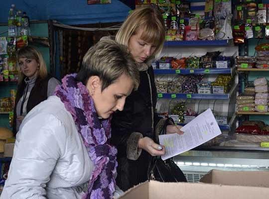 В Лутугинском районе проверили цены на продукты
