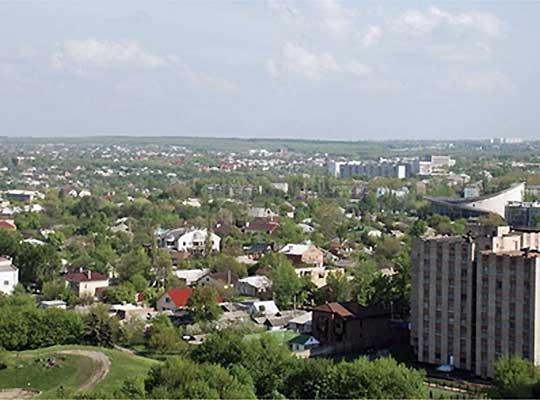 Зонирование Луганска