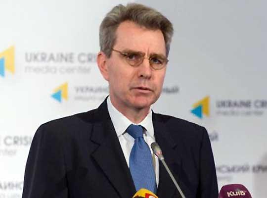 Джеффри Пайетт поздравил ЦИК Украины