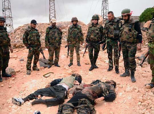 В Сирии уничтожены бандеровцы-украинцы