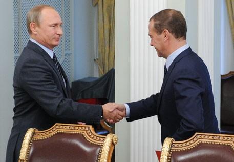 Путин Медведев