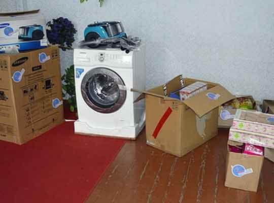 Школа-интернат Свердловского района получила в подарок бытовую технику