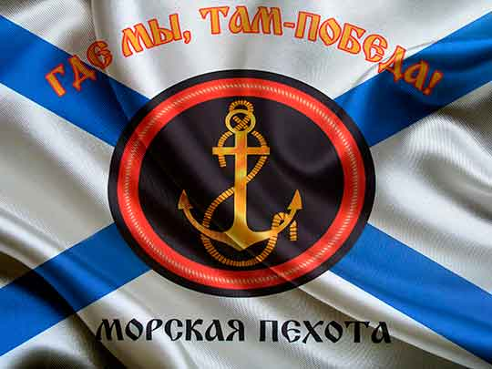 Морской пехоте ВМФ России исполняется 310 лет