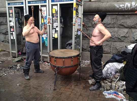 Украинский барабан Страдивари