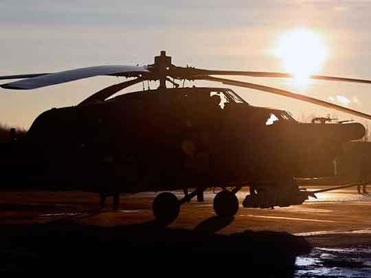 Reuters: в Сирии сбит российский вертолет