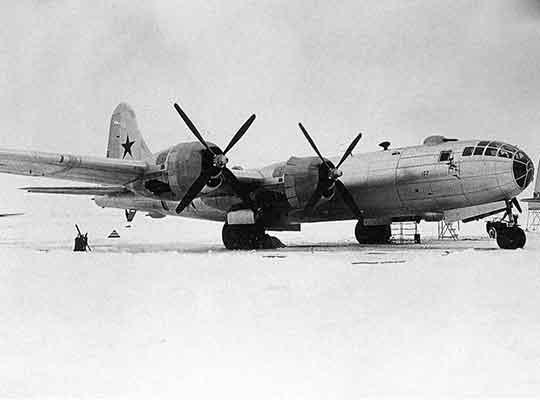 Бомбардировщик-Ту-4