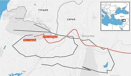 Тайна второго самолета, скрывшегося у границы Турции и Сирии