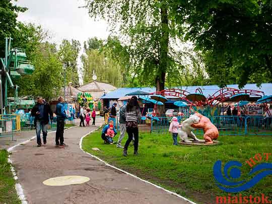 Луганский Парк культуры и отдыха имени 1-го мая открыл новый сезон работы