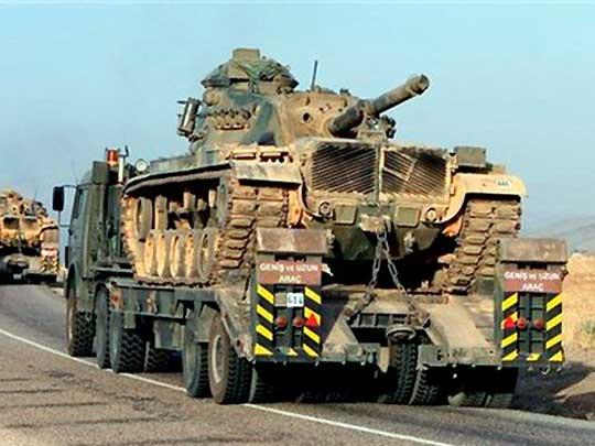 К ВСУ на оккупированную Луганщину прибыла турецкая техника