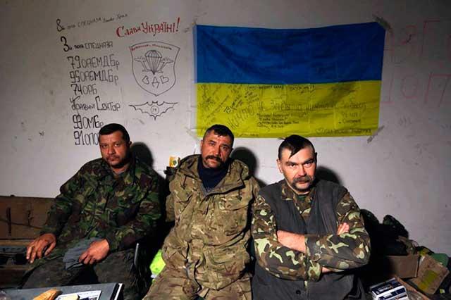 Командир роты 17-й танковой бригады ВСУ капитан Виталий Левковский
