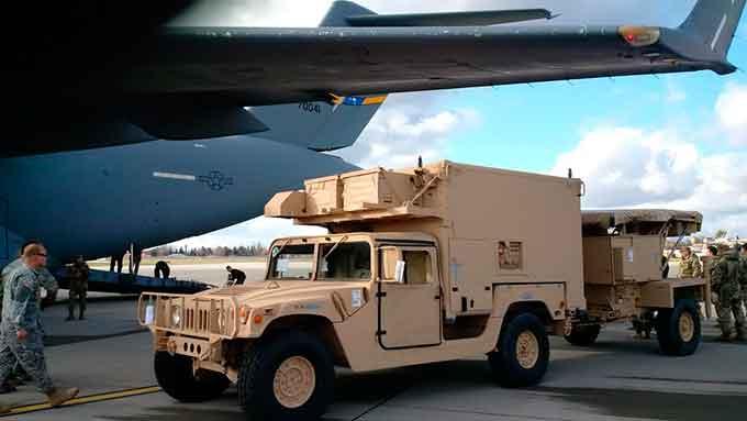 контрбатарейные радары от США