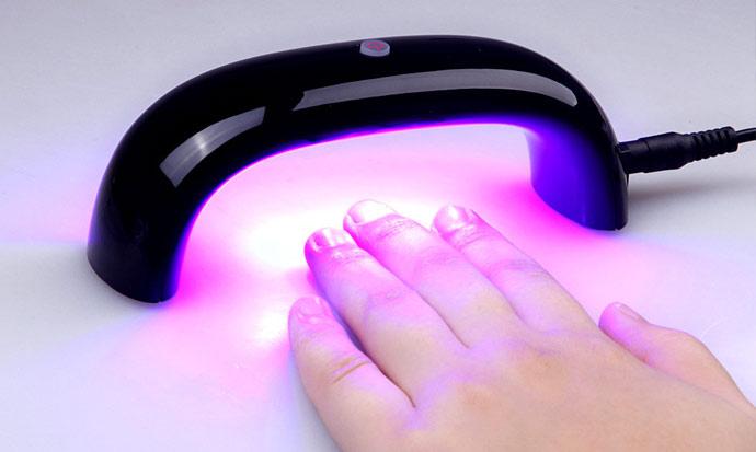 Как сушить лак-гель для ногтей