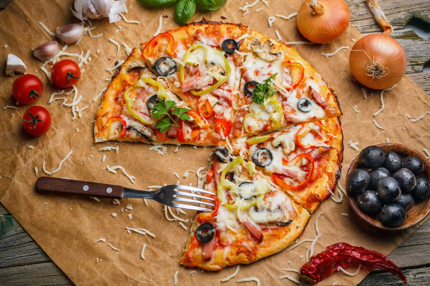 Разновидности итальянской пиццы